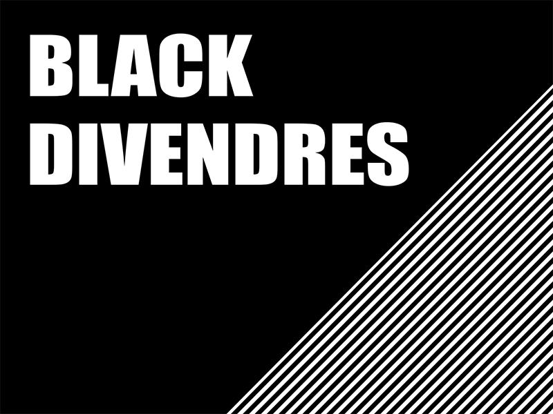 Arriba el Black Divendres a Coreixample! Veure promocions