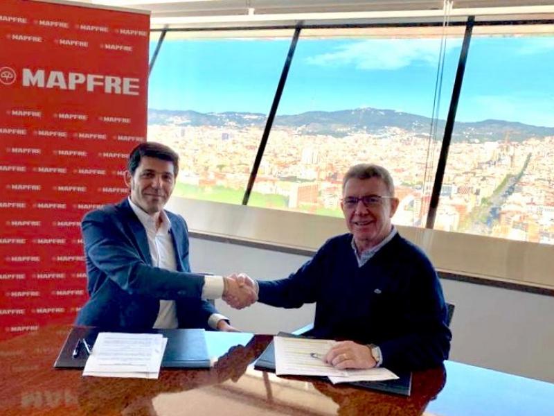 Signatura de l'acord de col·laboració MAPFRE – Coreixample