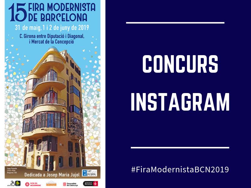 Torna el Concurs d'Instagram de la Fira Modernista 2019