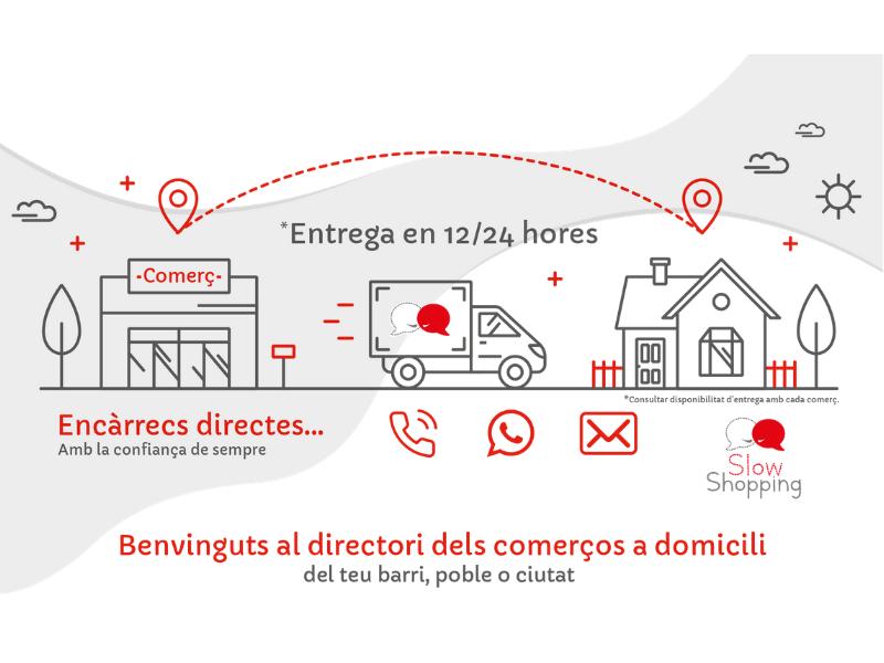 Coreixample impulsa una iniciativa amb comerços de tot Catalunya per fer front al confinament