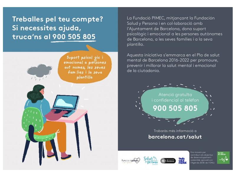 Barcelona ajuda empreses i autònoms a fer front a la crisi de la Covid-19