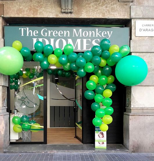 Inauguració THE GREEN MONKEY